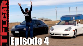 Download Porsche 911 vs Porsche Boxster S Comparison & Drag Race - Project Porsche Ep. 4 Video
