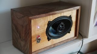 Download DIY Bluetooth Speaker Video