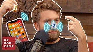 Download Gavin Creates the Bluetooth Nose - #574 | RT Podcast Video