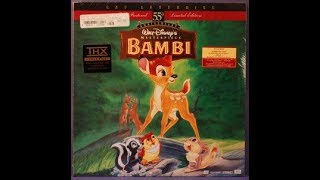 Download Bambi (1942) - Theatrical Reissue Trailer 1988 Video