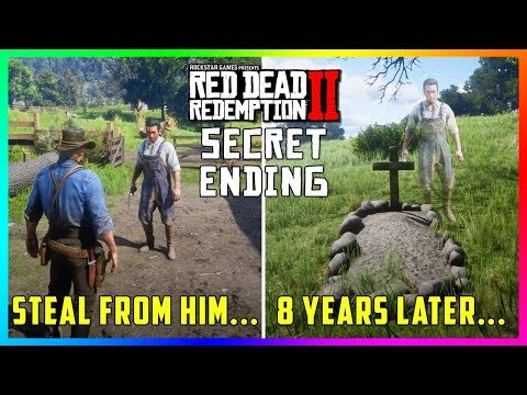 What Happens To The Father & Son That Arthur Steals A Stagecoach From In Red Dead Redemption 2?