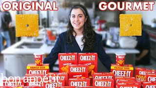 Download Pastry Chef Attempts to Make Gourmet Cheez-Its | Gourmet Makes | Bon Appétit Video