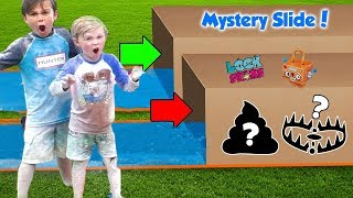 Download Dont Slide Through the Wrong Mystery Box with Lock Stars - Dad Gets Owned | DavidsTV Video