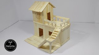 Download How to Make Popsicle Stick House for Rat Video