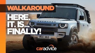 Download NEW Land Rover Defender revealed! Watch our walkaround review | CarAdvice Video