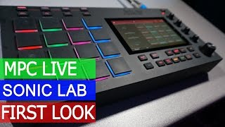 Download Akai MPC Live - First Look Video
