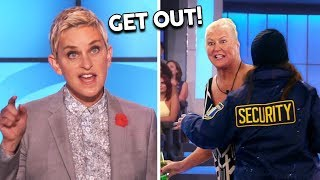 Download Ellen KICKS OUT Audience For Not Following The Rules Video