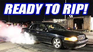 Download Cooper BLEW UP His Supra In a Donut Competition + The Crown Vic Goes To The Track! Video