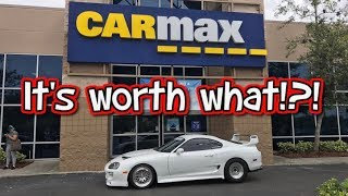 Download How much is a 1000hp Supra Turbo worth? Took my Supra to Carmax. Video