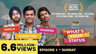 Download What's Your Status | Web Series | Episode1 - Sunday | Cheers! Video