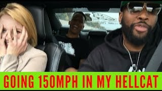 Download HER FIRST TIME IN A HELLCAT!!! And we went FAST!!! Video