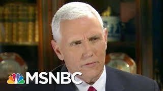 Download Mike Pence Up To His Neck In Russia Scandal, Losing Press Secretary | Rachel Maddow | MSNBC Video