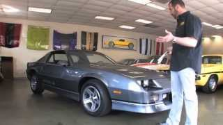 Download 1988 Chevrolet Camaro IROC-Z for sale with test drive, driving sounds, and walk through video Video
