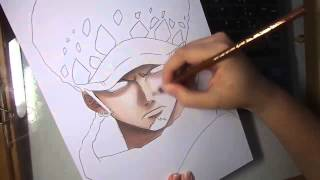 Download Speed Drawing - Trafalgar Law (One Piece) Video