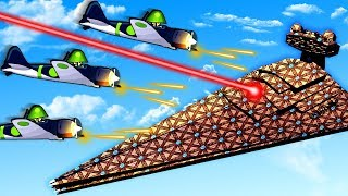 Download New Planes Swarm The Star Destroyer and Defend against the Galactic Empire in Forts! Video