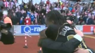 Download Ali Al Habsi best bits at Wigan Athletic with pitch invasion Video