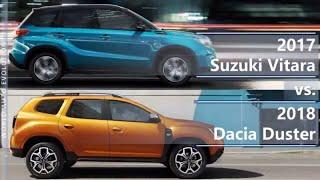 Download 2017 Suzuki Vitara vs 2018 Dacia Duster (technical comparison) Video