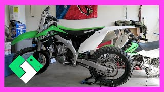 Download FRESHENING UP THE DIRT BIKES (Day 1426) | Clintus.tv Video