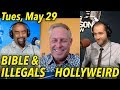 Download May 29: Bill Lockwood: Bible vs Illegals; Tommy Robinson Jailed; HOLLYWEIRD; Callers on Blacks Video