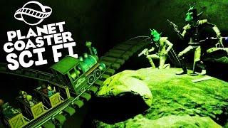 Download Planet Coaster Gameplay - Mine Train Coaster! - Let's Play Planet Coaster Part 15 Video