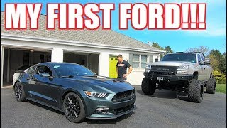 Download Going to the DARK SIDE.... TRADED a Corvette for a MUSTANG GT!!! Video