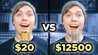 Download $20 Microphone Vs. $12500 Microphone Video