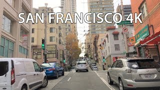Download Driving Downtown - Hills Of San Francisco 4K - USA Video