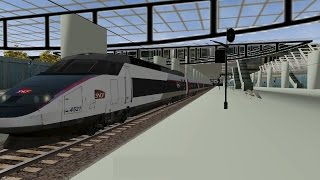 Download MARNE LA VALLÉE - CHESSY à AÉROPORT CDG TGV en TGV Réseau [Open Rails/MSTS] Video