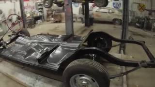 Download 1957 chevy Belair one piece floor pan install Video