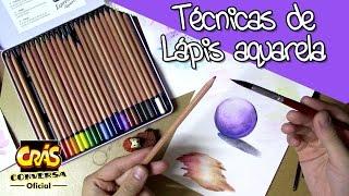 Download Técnicas básicas de LÁPIS AQUARELA - Sketch Crás Video