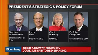 Download Trump Disbands Business Councils as CEOs Turn Against Him Video