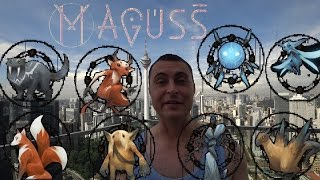 Download Maguss fighting every monster Video