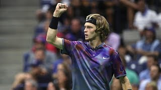 Download US Open 2017 In Review: Andrey Rublev Video