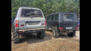 Download Land Cruiser 80 41″ Mercedes Gelandewagen 39″ uaz hunter 37″. Суровый оффроад. Ч.1 Video
