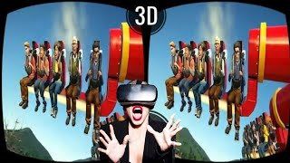 Download VR VIDEOS 3D Roller Coaster VR Theme Park with TOP 10 ATTRACTIONS for VR Video