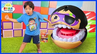 Download Ryan Escaping Pac-Man GIANT GOBSMAX BALLS Edition!!! Video