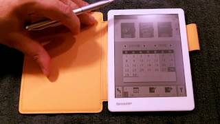 Download WG-S20 Sharp Electronic Memo Pad Feature Review Video