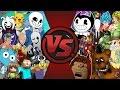 Download UNDERTALE vs BENDY vs FNAF vs ANIME vs CARTOONS & MORE! CFC ULTIMATE SD EP 184! Video