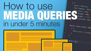 Download Tutorial: Learn how to use CSS Media Queries in less than 5 minutes Video