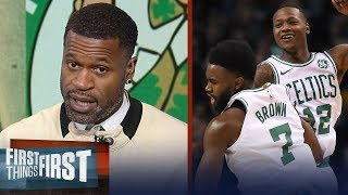 Download Stephen Jackson on Boston routing Bucks, Talks expectations for LeBron's Cavs | FIRST THINGS FIRST Video
