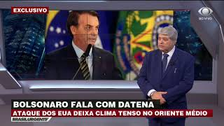 Download EXCLUSIVO: Bolsonaro analisa crise entre EUA e Irã após ataque Video