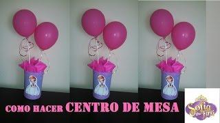 Download COMO HACER CENTRO DE MESA PRINCESA SOFIA/SOFIA the FIRST Video