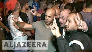 Download Palestinians celebrate as Israel removes security measures at al-Aqsa Video