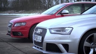Download Audi S4 v Audi RS4. Does Supercharging Rule? - /CHRIS HARRIS ON CARS Video