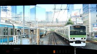 Download 【4K60fps前面展望】山手線外回り 一周 池袋~池袋 Yamanote Line cab view Video