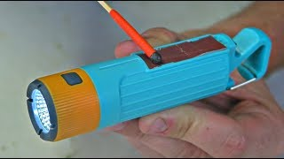Download World's First Flashlight Matches Container! Video