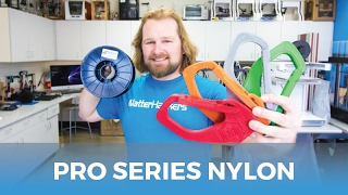 Download MatterHackers New PRO Series Nylon // Colorful Nylon 3D Filament Video