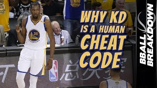 Download Why KEVIN DURANT Is A Human CHEAT CODE Video
