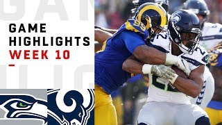 Download Seahawks vs. Rams Week 10 Highlights | NFL 2018 Video