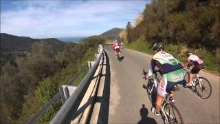 Download Epic downhill road bike race - 100 overtakes - Granfondo La Spezia - GoPro on board Video